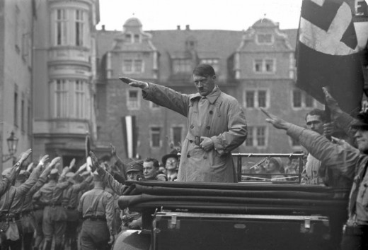 Adolf Hitler, one of the most prominent personalities in World War II.