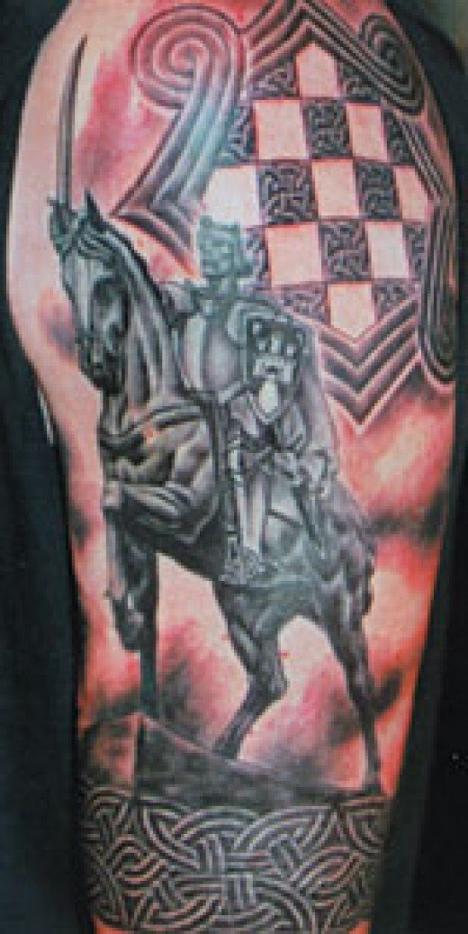 Celtic Warrior Tattoo