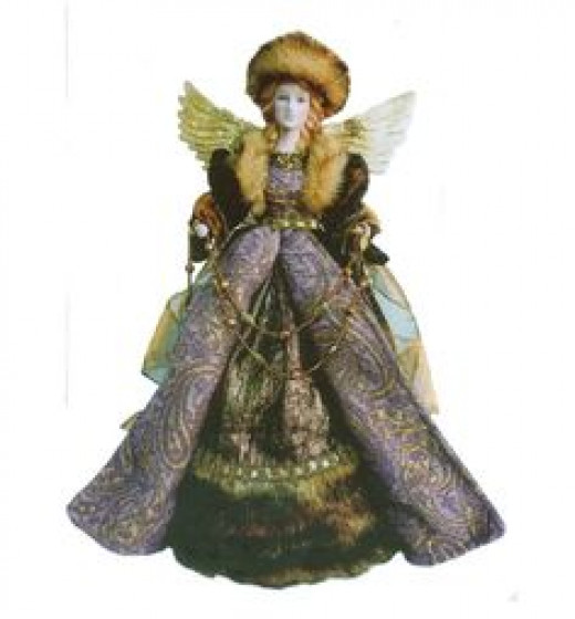 Beautiful Vintage Reproduction Angel