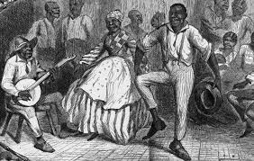 There certain restrictions placed on enslaved Africans when it come to their dance steps. For example, they could not kick their legs up in the air.