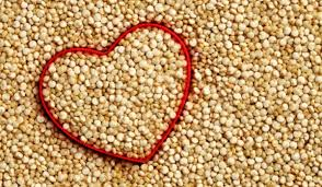 Quinoa is a Complex Carbohydrate that is good for you.  Check the chart on this page to see the nutritional value of 1/2 a cup of this grain compared to 1/2 a cup of white rice.  It will surprise you.