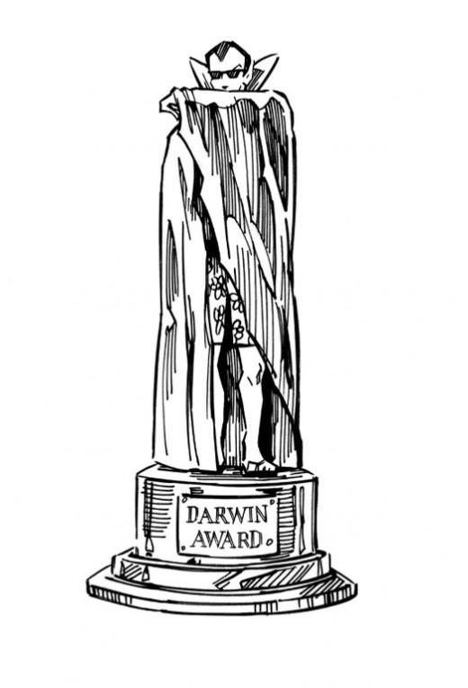 Vampire Darwin Award