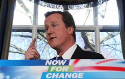 David Cameron In Debate.