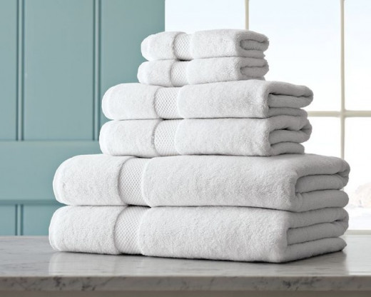 Pour some love and life back into your bathroom towels.