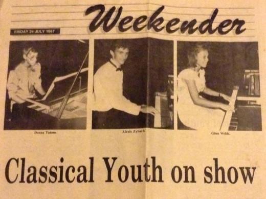 Newspaper memory circa 1984