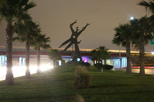 Monument of Progress in Reynosa.
