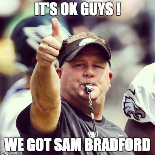 Philadelphia Eagles Head Coach / GM got his franchise QB?