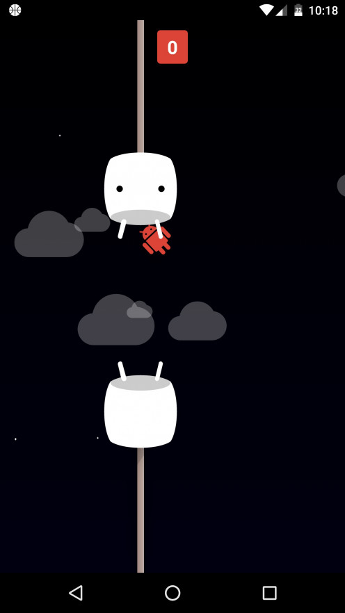 Android Marshmallow Game Play Screenshot!