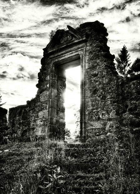 A Doorway in Ancient Ruins
