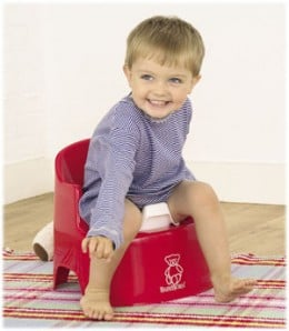 Standard age for potty training