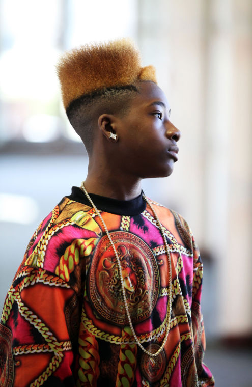 He was born Charles Jones, but he's a rapper who calls himself 'Young Prince Charles.'