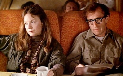 Diane Keaton and Woody Allen