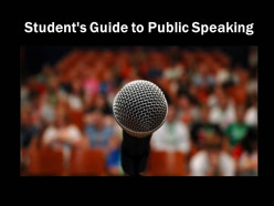 Student's Guide to Public Speaking