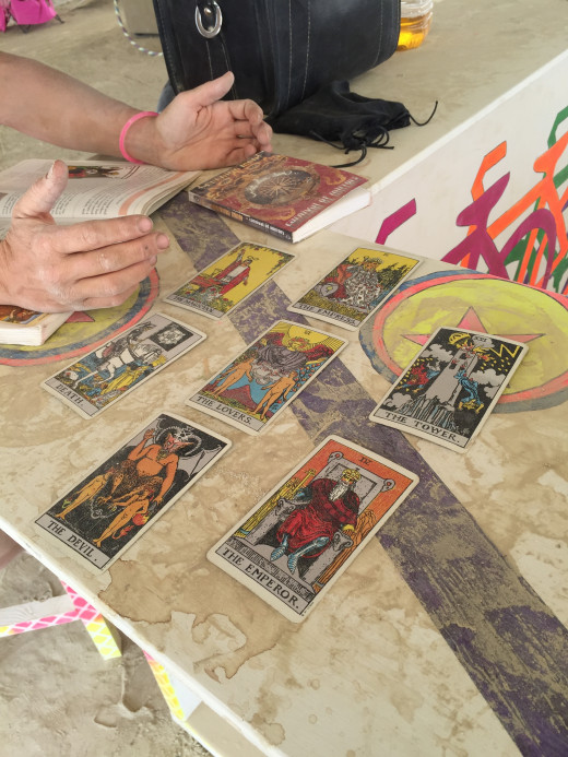 My first, real tarot reading was absolutely fantastic.