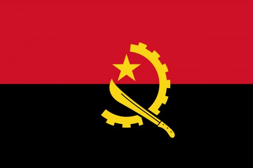 National Flag of Angola