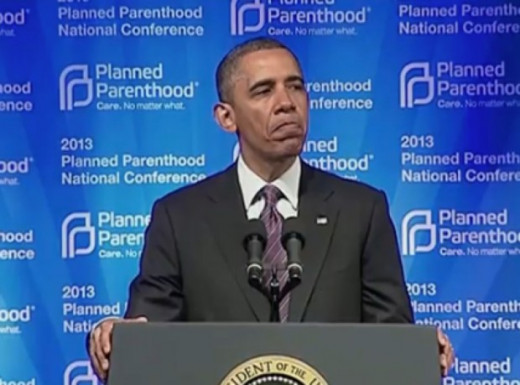 Obama supports and admires Planned Parenthood
