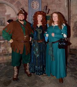Merida and Robin Hood Costumes