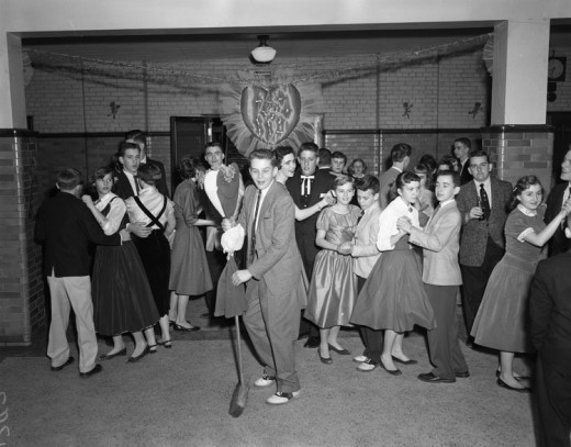By The Library of Virginia from USA (Valentine dance, school  Uploaded by AlbertHerring) [No restrictions], via Wikimedia Commons