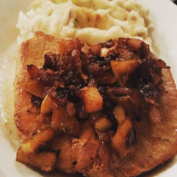 Sweetly Smothered Pork Chops