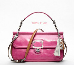 Coach Purses: Think Pink