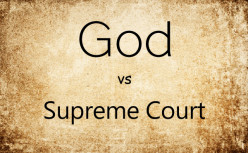 God or Court: Who decides?
