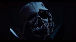 Darth Vader's melted helmet