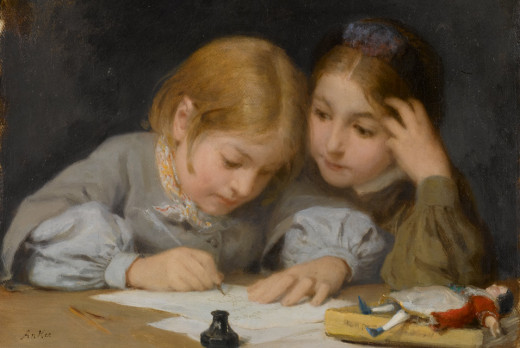 By Albert Anker (1831-1910) (ArtDaily.org) [Public domain], via Wikimedia Commons