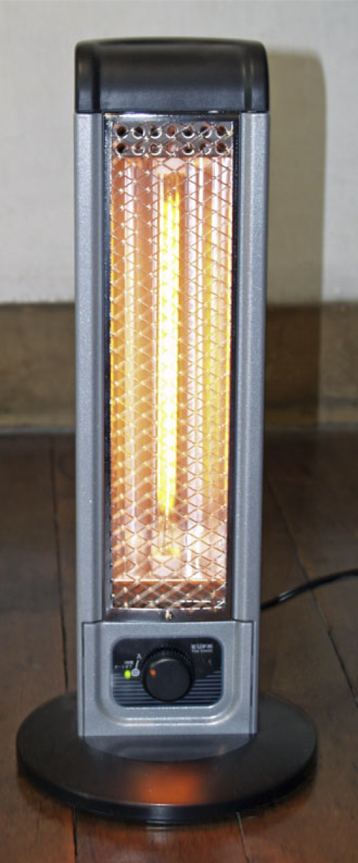 Vertical Infrared Heater