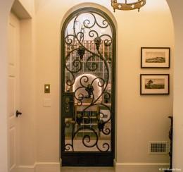 A typical wine door
