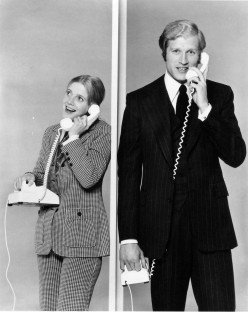 Blythe Danner and Ken Howard in Adam's Rib