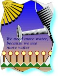 When are CA, OR, and WA going to take advantage of the power, and drinking water avail from the