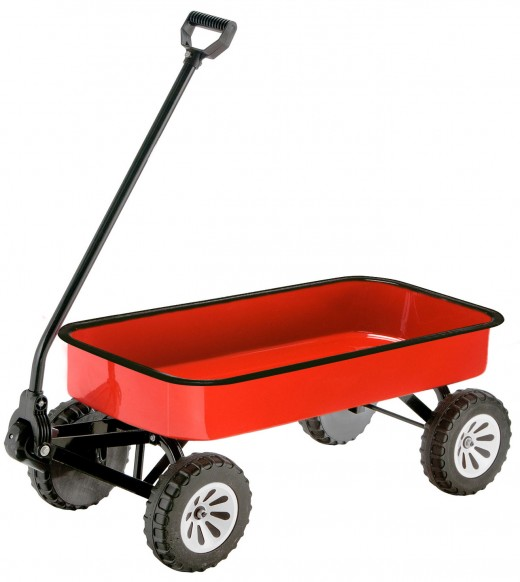 little red wagon that most every child has