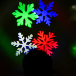 Firefly Lamp Laser Light Sparkling Snowflake Projector