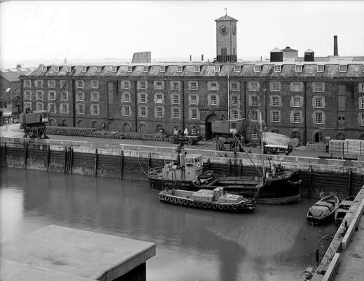 Sheerness Dockyards c. 1920s
