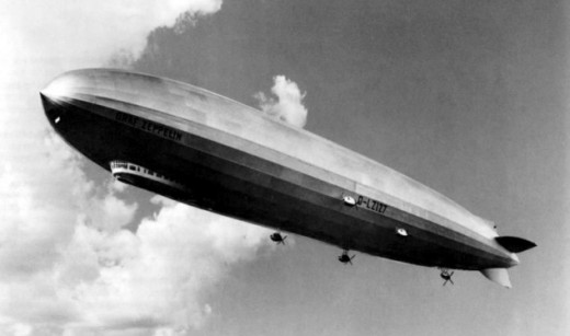 Zeppelin over England