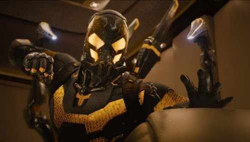 Stoll's Yellowjacket is on screen for about 15 minutes, tops. Why not more, Marvel?