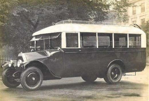 1920s Motor Coach