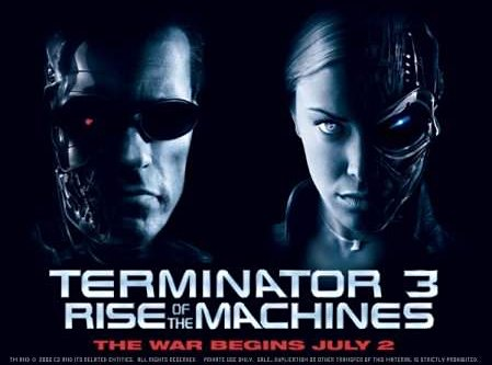 """Poster for """"Terminator 3: Rise Of The Machines"""""""