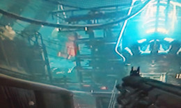 "Screenshot of the ""Origins"" giant from the Black Ops 3 Zombies map ""The Giant"""