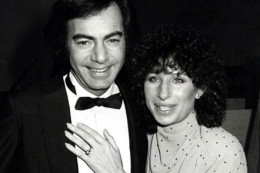 Barbra Streisand and Neil Diamond