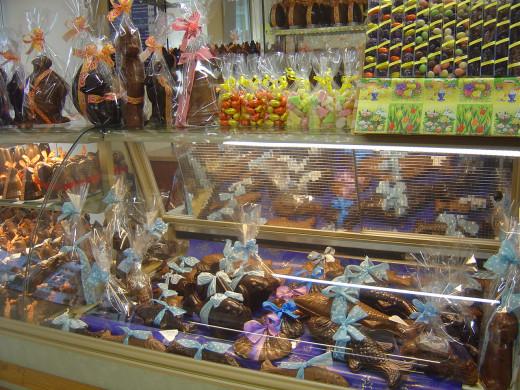 Cyrano Chocolate shop, St Junien, France