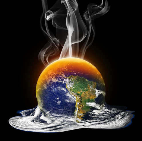 Mother Earth is Melting away?