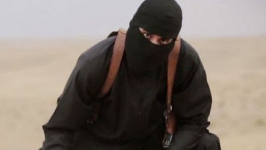 Infamous IS Operative Mohammed Emwazi Dubbed 'Jihadi John' By The British Press And Media.