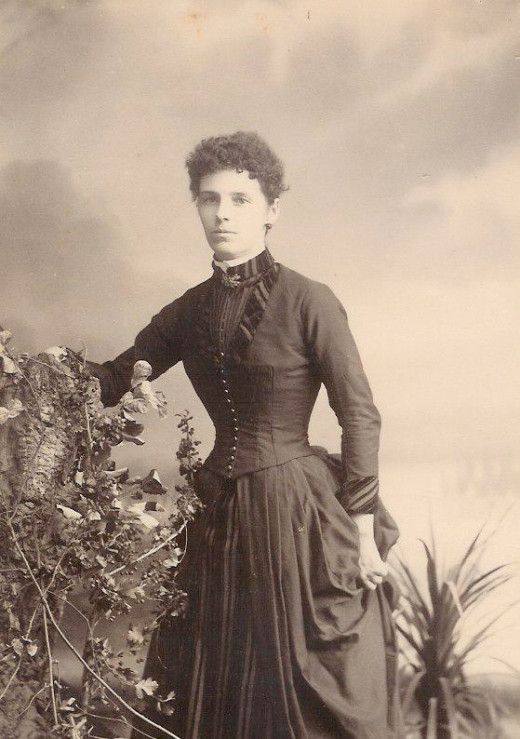 1889, Nov. 13:  Letitia Jane Phillips' Wedding Day