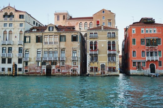 The Cruise disembarked from Venice, Italy