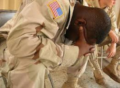 You think it should be considered state of emergency with twenty-two vets committing suicide a day?