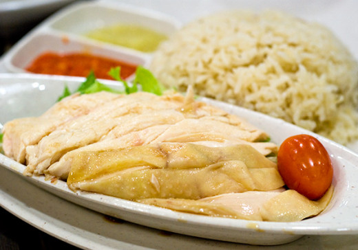 Some food courts might separate your chicken from your rice