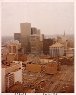 Dallas, Texas, 1981.