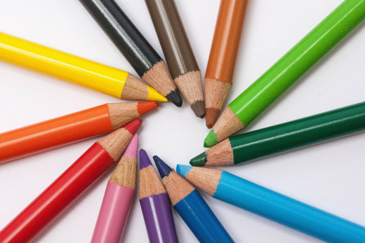 Colored pencils are a popular choice for mandala coloring pages.