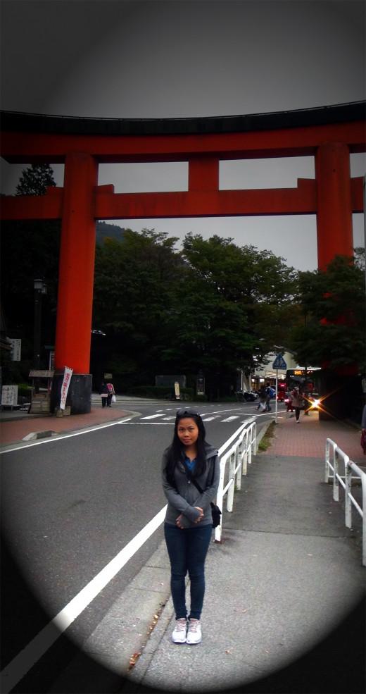 Me in Hakone-machi